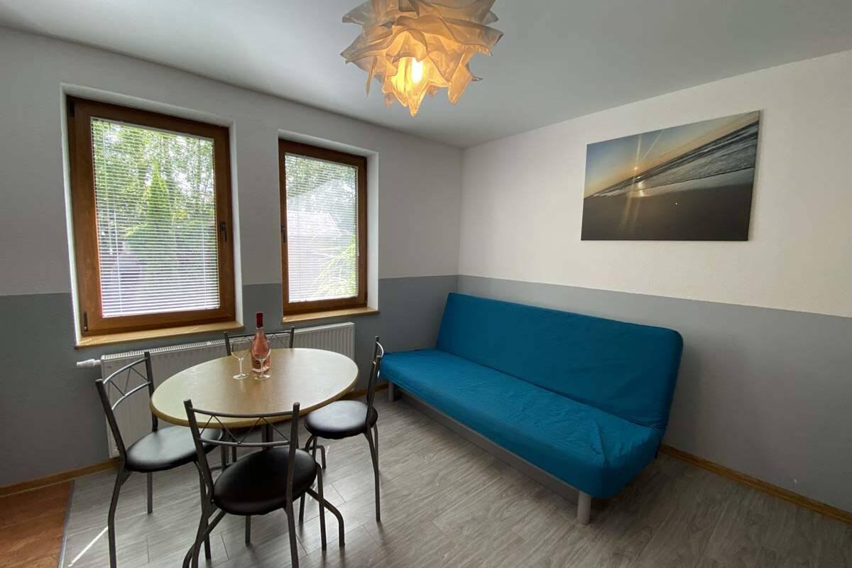 Sofa w apartamencie